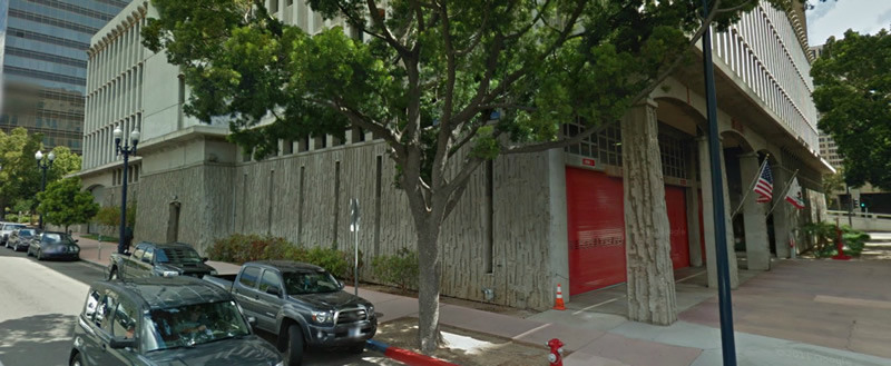 Fire Station 1, Downtown San Diego